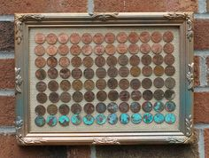 Get a bunch of pennies!  They are naturally a wide range of colors...  Sort out the brightest, brownest,   blackest, whitest and teal-est ones.