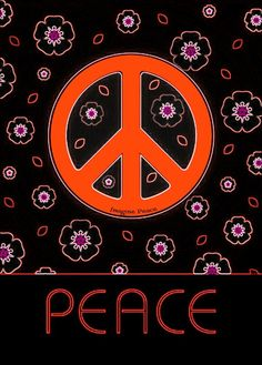 ☮✌~Paz~✌☮ ❤~ AMOR ~❤  ❤☮✌Peace☮∞L♡VE∞★ ☮ American Hippie Art ☮ Peace Sign
