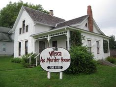 Villisca Ax Murder House   Done! And without a doubt, one of the most awesome sites for paranormal activity :)