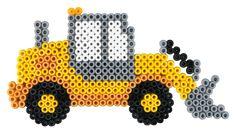 Traktor Contruction vehicle Hama beads