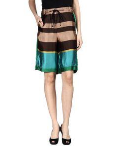 DRIES VAN NOTEN Shorts. #driesvannoten #cloth #dress #top #skirt #pant #coat #jacket #jecket #beachwear #