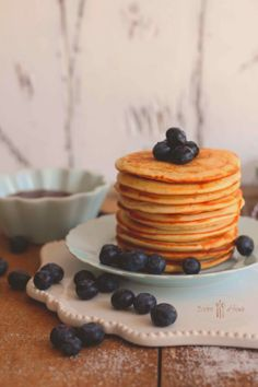 bistro at home: Mascarpones palacsinta áfonyával American Pancakes, Thomas Keller, Food Photo, I Foods, Cooking, Breakfast, Recipes, Photos, Kitchen