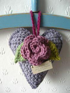 DIY – Crochet Valentine's Heart by BautaWitch   BautaWitch