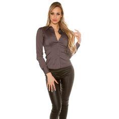 Dámska košeľa s dlhými rukávmi - NajlepšiaMóda. Modeling, Diva, Stripes, Modeling Photography, Divas, Models, Godly Woman