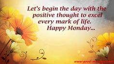 happy monday message