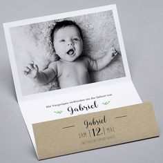 Geburtskarten -