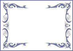 Bordes y marcos para diplomas gratis - Imagui