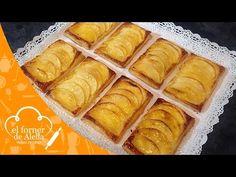 Hoy el Forner de Alella nos muestra cómo preparar unos Hojaldres de Manzana con Crema. Hemor preparado esta receta con una tartas en formato ind