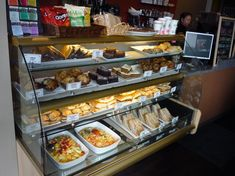 display case --- Cafe/Bistro & Sandwich Shop Victoria BC