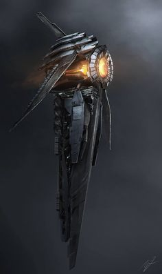 Probe concept ships: Spaceship art by Adam Burn Spaceship Art, Spaceship Design, Spaceship Concept, Concept Ships, Concept Art, Illustration Fantasy, Science Fiction Kunst, Alien Ship, Sci Fi Spaceships