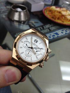 Vacheron VC Overseas Chronograph in Rose Gold