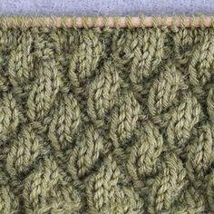 Tosi helpolla valepalmikolla voi korvata vaikka joustinneuleen tai neuloa koko työn lettipintaisena. Love Knitting Patterns, Knitting Stitches, Knitting Socks, Quilt Patterns, Knitted Hats, Crochet Chart, Diy Crochet, Wool Socks, Diy Projects To Try