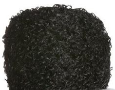Be Sweet Boucle Mohair Yarn (curly) - Black