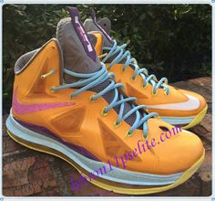 LeBron X 10s Easter Customs by Jparker-A new sample of Lebron 10