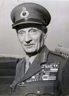 Bernard Law Montgomery, mariscal de campo que derrotó a las tropas de Rommel en Africa
