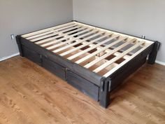 Storage Bed by DBWoodWorx on Etsy