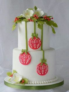 Cake Inspiration for next year when I start working with Fondant