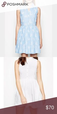 Jack Wills Mornick Shirt dress white dress (2nd pic) in us 2 uk 6. great condition. perfect for summer Jack Wills Dresses