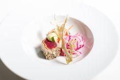 Stones Events - Starter - Weddings - Seared Tuna, Asian Dressing, Gochuchang