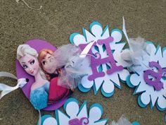 Frozen banner frozen garland frozen decoration by CraftyParfait