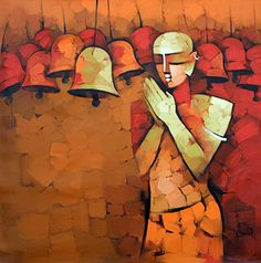An online art gallery offering the best range of indian art online. Choose to buy from paintings, prints, artworks and more by renowned artists. Paintings Online India, Indian Art Paintings, Modern Art Paintings, Online Painting, Buy Paintings, Famous Artists Paintings, Indian Contemporary Art, Indian Folk Art, India Art