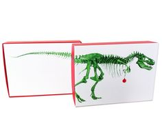 Academy Store | T. rex Holiday Cards - Color of Life Store - Exhibit Gifts