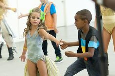 Dance Moms Mackenzie and dance partner