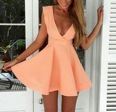 Sweet sleeveless pink dress VG12415NM