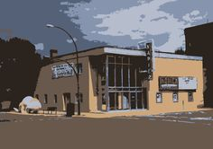 Napier Theatre in Drumheller AB, with a single screen showing and buttery popcorn, cheap night tuesdays are a must.