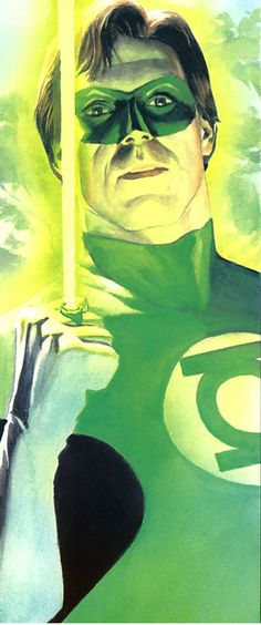 Green Lantern Hal Jordan by Alex Ross