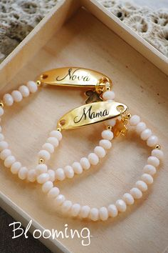 Christening Bracelets, Wedding Gifts For Guests, Pearl Necklace, Easter, Jewellery, Pearls, Baby, Decor, Bijoux