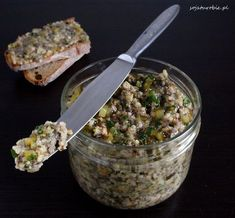 sojaturobie: Mushroom and millet pate. Kitchen Recipes, Cooking Recipes, Clean Eating, Healthy Eating, Healthy Food, Vegetarian Recipes, Healthy Recipes, Appetizer Salads, Slow Food