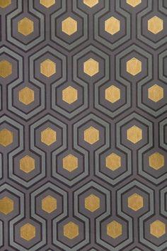 Hicks' Hexagon - Wallpaper Ideas & Designs - Living Room & Bedroom (houseandgarden.co.uk)