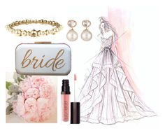 blushing bride by jaimevd on Polyvore featuring Chanel, Samira 13 and Laura Mercier
