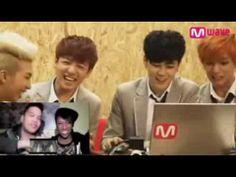 ▶ Bangtan Boys BTS watch KSpazzing MV Reaction - YouTube