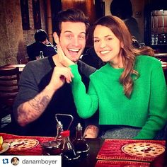 #YoungerTV Sutton Lenore Foster and Nico Tortorella | they are so cute together