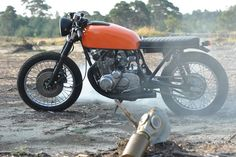 Suzuki GS550 by Left Hand Cycles 1