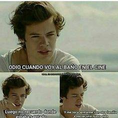 Me pasa todo el tiempo Harry..