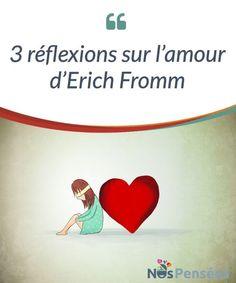 3 réflexions sur l'amour d'Erich Fromm Erich Fromm, grâce à son livre « L'art d'aimer » nous a légué une grande source #d'inspiration pour nous faire réfléchir sur l'amour. Cet auteur a été capable de #considérer l'amour comme un art, comme un sentiment que nous pouvons tou-te-s avoir le potentiel de #générer, mais qui demande beaucoup d'attention pour être maintenu. #Emotions
