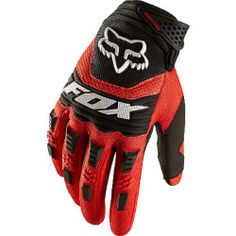 Fox Head Men's Dirtpaw Race Glove, Red, Large - http://ridingjerseys.com/fox-head-mens-dirtpaw-race-glove-red-large/