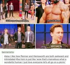 Oh, Tom, you wonderful human being.