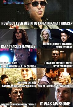 Mean Girls meets Battlestar Galactica.