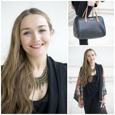 Kimono trend-Lookbook   StreetStyle * What I Would Wear * The Inner Interiorista