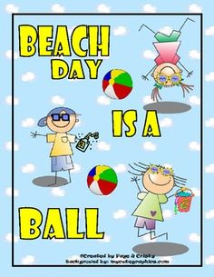 Beach Day Fun is a great end of the year pack to help your kids have a fun time with a Beach Theme while also working on previously taught math, sc...