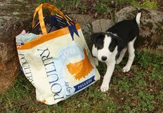 Recycle A Feed Bag Into A Tote Bag