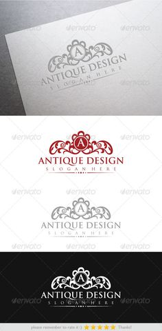 Antique Design — Vector EPS #creative #floral • Available here → https://graphicriver.net/item/antique-design/6478142?ref=pxcr