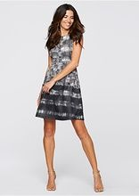Sukienka z materiału o wyglądzie neoprenu • 129.99 zł • bonprix