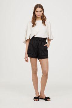 Short Shorts | Black | WOMEN | H&M US