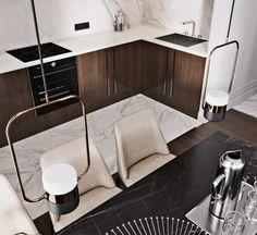 Interior Home Design Trends For 2020 - Ideas Interior Design Kitchen, Design Trends, Sink, Modern, House Design, Living Room, Furniture, Behance, Home Decor