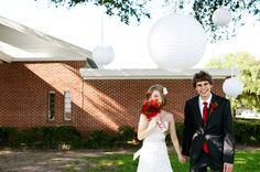 Una boda DIY en rojo y blanco 9